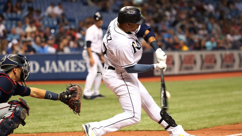 Carlos Gomez smashes his 1st career walk-off HR, Rays sweep Twins to win 4th straight
