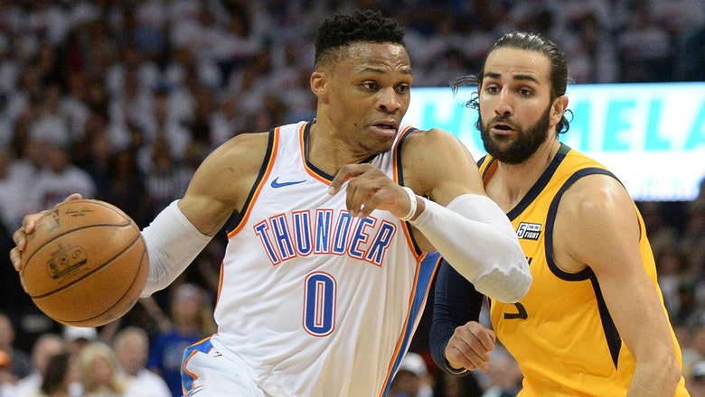 Shannon Sharpe: 'Ricky Rubio is outplaying Russell Westbrook in this series'