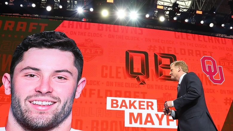 Even with rookie status, Browns' Mayfield plans to lead team