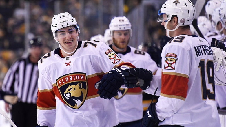 Panthers have 15th overall pick in 2018 NHL draft