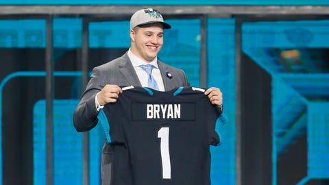 Taven Bryan -- DL, Florida (First round, 29th overall)