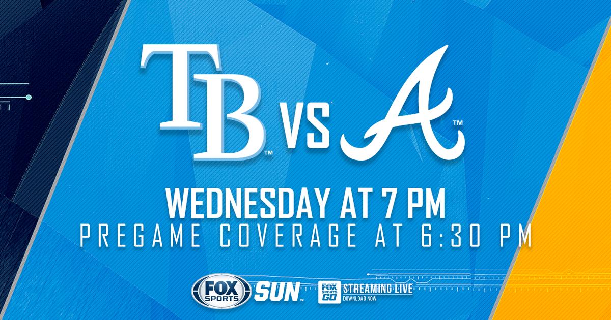 Atlanta Braves at Tampa Bay Rays game preview