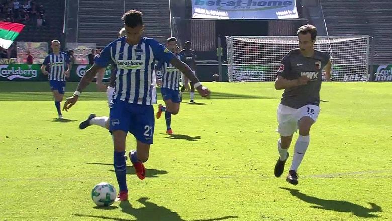 Hertha BSC Berlin vs. FC Augsburg | 2017-18 Bundesliga Highlights