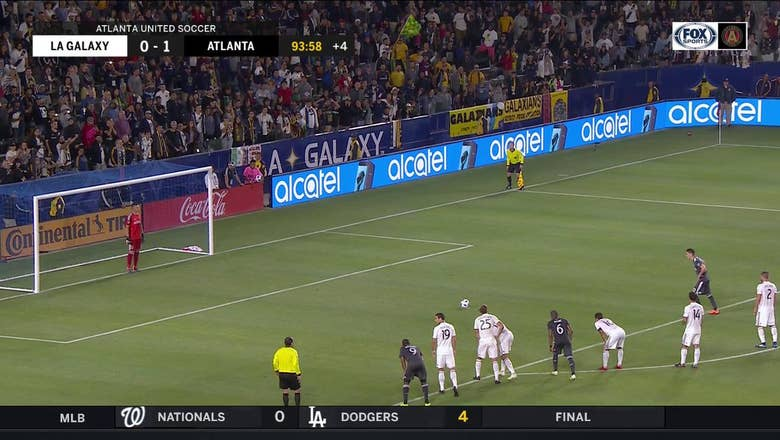WATCH: Miguel Almiron ices Atlanta United win over Galaxy with fourth goal of season