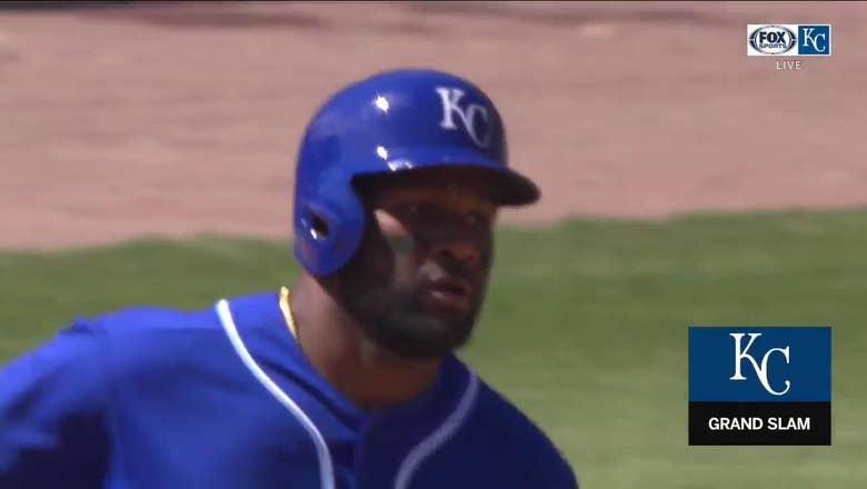 WATCH: Abraham Almonte hits a grand slam