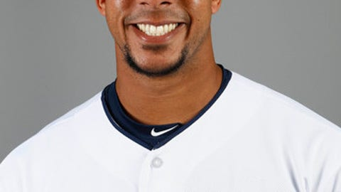 File-This 2018 file photo shows left fielder Michael Brantley of the Cleveland Indians baseball team, in Goodyear, Ariz. Brantley is starting the season on the disabled list as he recovers from ankle surgery. Brantley has been limited to 101 games the past two seasons because of injuries and the two-time All-Star will begin 2018 on the DL. The 30-year-old only began playing in spring training games a few days ago, and the team doesnt want to rush him back. Brantley homered in the first at-bat of his first start last week.  (AP Photo/Ross D. Franklin, File)