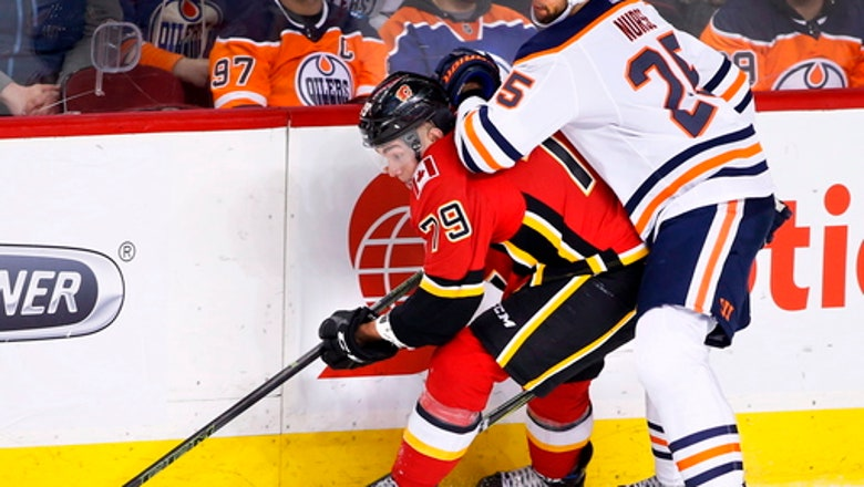 Hamilton starts Flames' 3-goal first in 3-2 win over Oilers