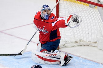 Capitals name Philipp Grubauer Game 1 playoff starter