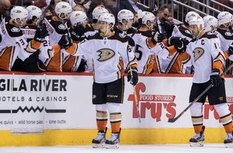Rakell, Miller lead playoff-bound Ducks past Coyotes, 3-0