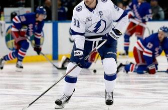 Lightning's Stamkos eyes return for 1st round of playoffs