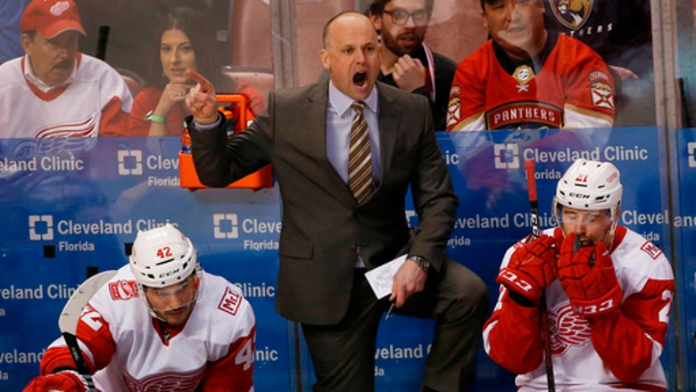 Red Wings bringing back coach Jeff Blashill for 4th season