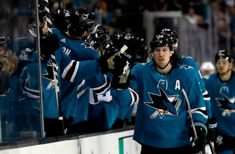 Healthy Couture key for Sharks heading into playoffs