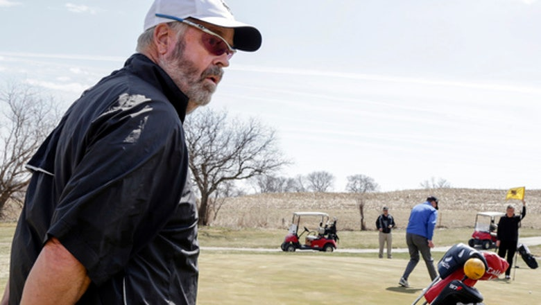 Senior golf? Nebraska college team has 61-year-old freshman