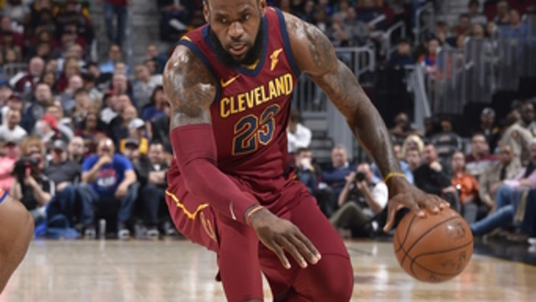 LeBron plays 82nd game, rests as Cavs lose 110-98 to Knicks