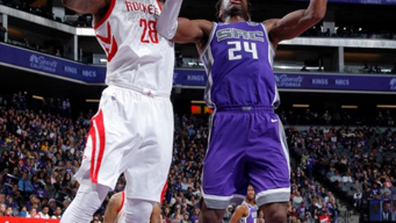Kings beat short-handed Rockets 96-83 in season finale