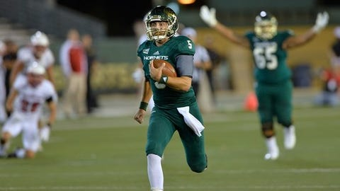 <p>(STATS) - Montana, Eastern Washington, FCS quarterfinalist Weber State ... surprise, the highest-scoring team in the Big Sky Conference last season wasn't one of them, it was Sacramento State.</p><p>The Hornets averaged 37.6 points, ranking fifth nationally in addition to leading the always offensive-heavy Big Sky. It was a stunning turnaround for a program that tied for last in scoring in the 13-team conference just one year earlier.</p><p>Not surprisingly, the Hornets improved by five wins to 7-4 and tied for third with a 6-2 conference record under Jody Sears, the Big Sky co-coach of the year.</p><p>As the Hornets conclude spring practice with their annual intrasquad game Friday night, their focus is squarely on qualifying for the FCS playoffs for the first time.</p><p>Quarterback Kevin Thomson returns as the offensive leader. In his first season following a transfer from UNLV, he set the school record with a 171.80 passing efficiency rating while totaling 26 touchdowns (17 passing, nine rushing) with only three turnovers (all interceptions).</p><p>He will team again with many of last year's leading skill position players, with redshirt freshman Pierre Williams expected to make a difference at wide receiver.</p>