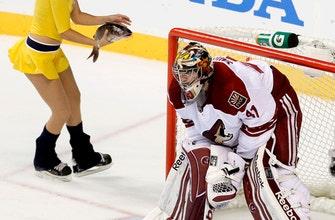 Predators unveil new catfish tank for start of NHL playoffs
