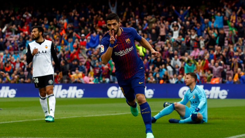 Barcelona unbeaten in record 39 straight league games