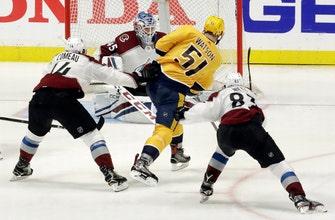 Predators beat Avalanche 5-4 to take 2-0 series lead