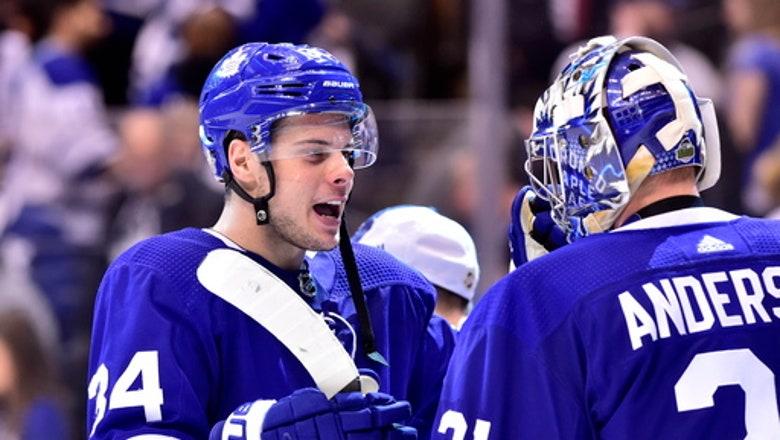 Matthews, Marleau lead Maple Leafs past Bruins 4-2 in Game 3