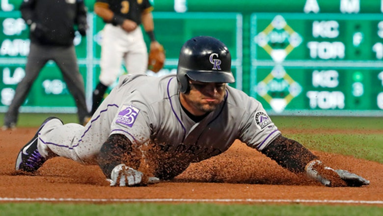 Rockies' Bettis, 3-relievers shut out Bucs at snowy PNC Park