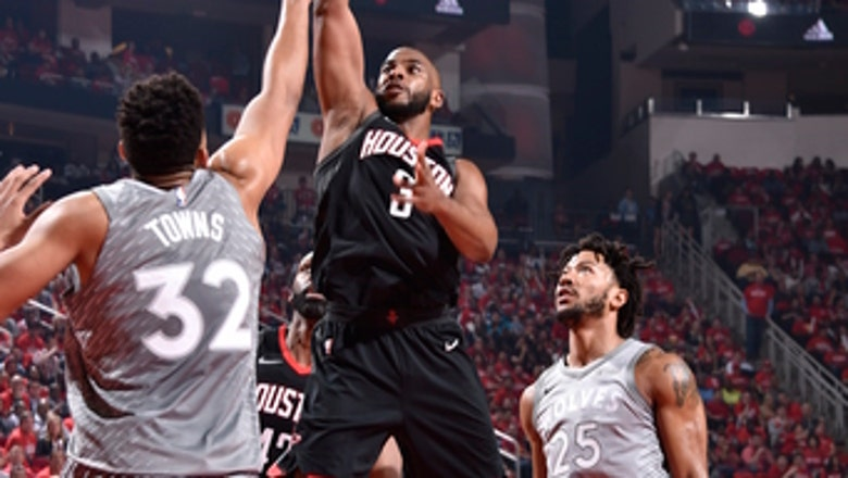 Paul, Green help Rockets rout Timberwolves 102-82 in Game 2