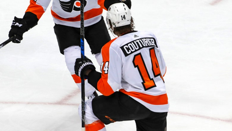 Courtier scores late, Flyers edge Penguins to force Game 6