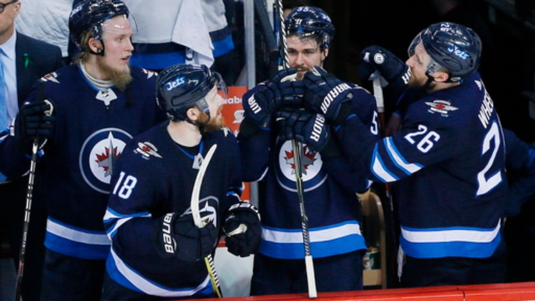 Jets beat Wild 5-0 in Game 5 to advance to second round