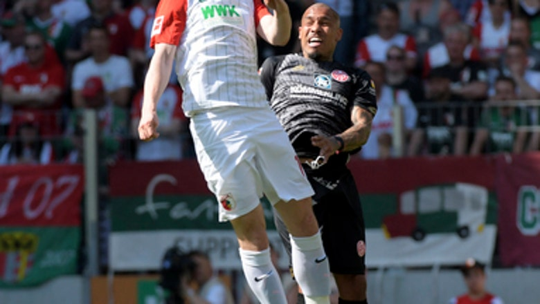 Augsburg beats Mainz to ensure Bundesliga survival
