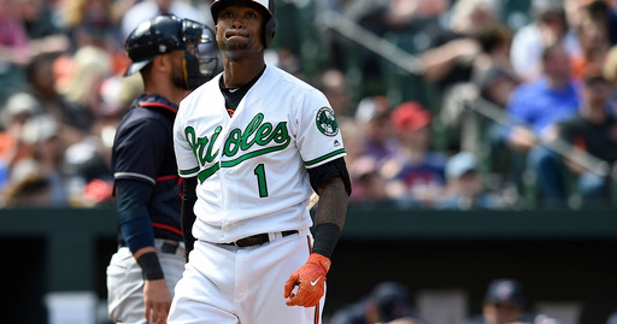 Orioles put INF Beckham on 10-day DL, add OF Peterson