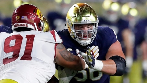Nelson, McGlinchey go top 10 in NFL Draft