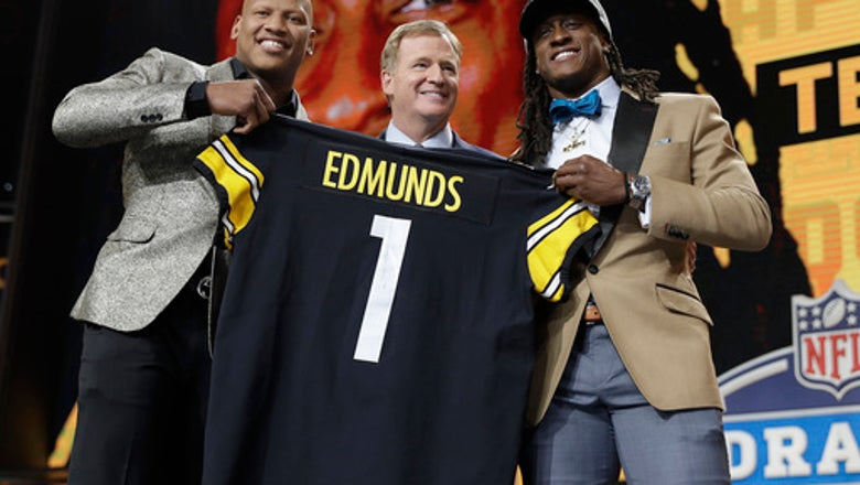 Family pride: Edmunds brothers both go in 1st round