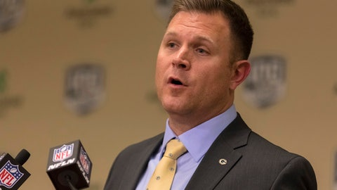 Brian Gutekunst, Packers general manager (↑ UP)
