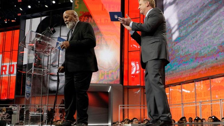 Browns address tackle need, take Nevada's Corbett