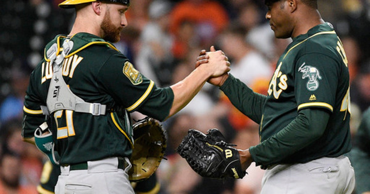 22753f312 Manaea follows no-no with strong start as A's beat Astros   FOX Sports