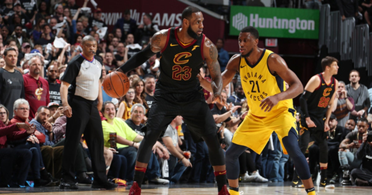 c1b0b92cfc56 7th heaven  LeBron carries Cavaliers past Pacers in Game 7