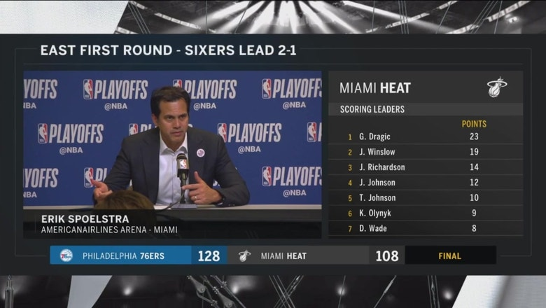 Erik Spoelstra: You have to play 48 minutes against this team