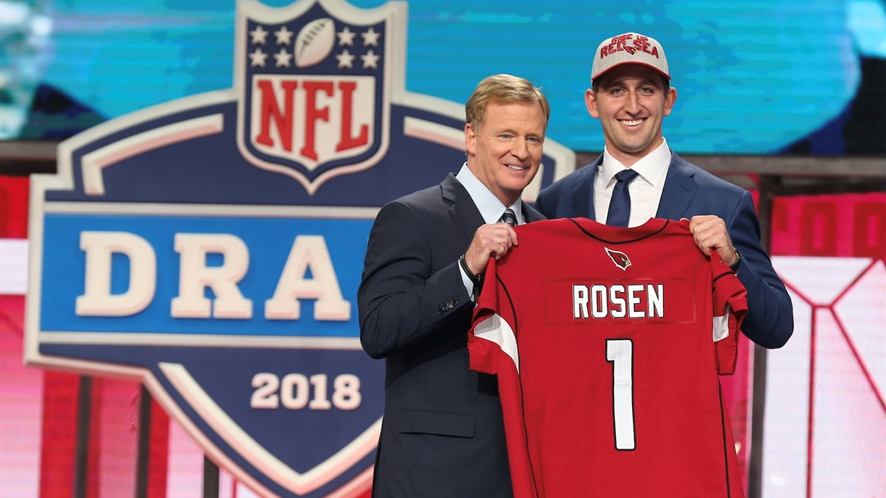 f6d35eb6 Colin Cowherd reveals why he is impressed by Cardinals trading up to draft  Josh Rosen with 10th pick