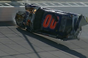 Michael Mcdowell says his crash at Texas in 2008 was his first 'big' wreck