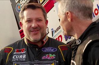 Where's Wallace: Tony Stewart talks dirt racing's growing popularity