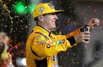 Kyle Busch goes to the track to compete, not to make friends