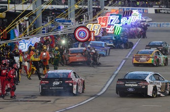 Breaking down all of the bizarre pit road calamity from Richmond Raceway