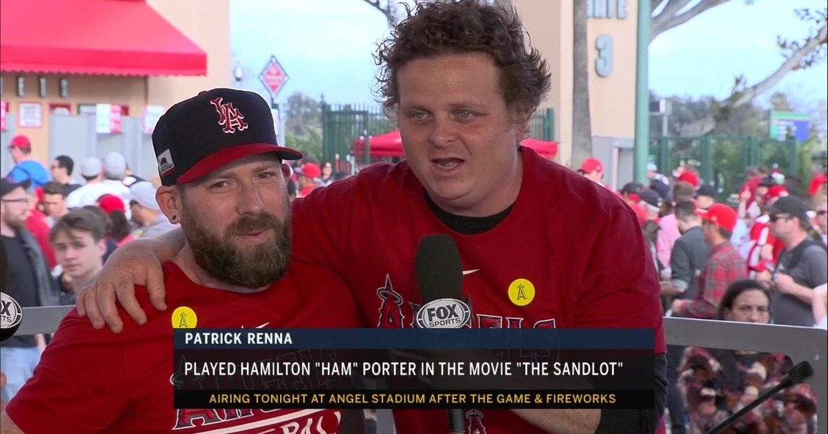 00f7147d63e Angels Live   The Sandlot  actors on 25th Anniversary of movie release