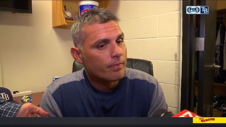 Kevin Cash breaks down Wednesday's win over the Orioles
