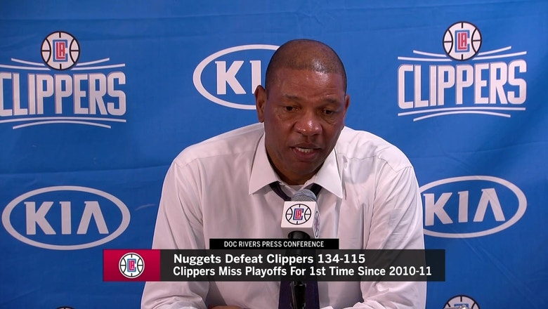 LA Clippers eliminated from postseason contention with loss to Nuggets