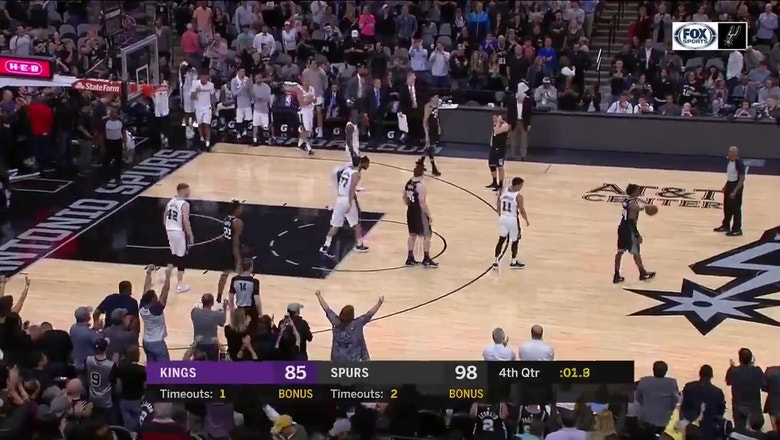 SPURS CLINCH Playoff Berth with win over Sacramento Kings