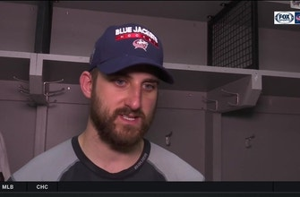 Nick Foligno on Game 6 in Columbus: 'We're gonna give them a reason to be loud'