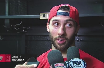 Vincent Trocheck reflects on the 2017-18 season