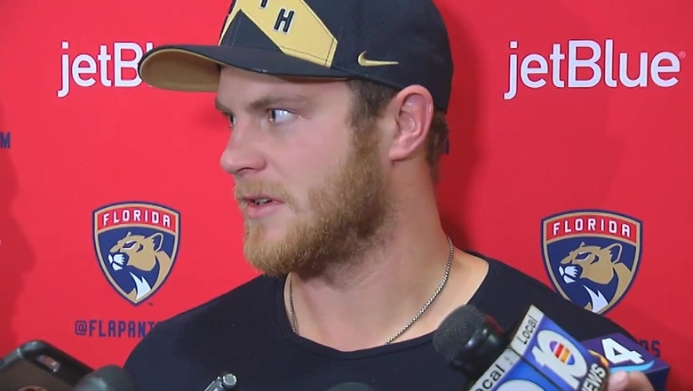 Florida Panthers exit interview: Jamie McGinn wants to pick up next year right where they left off