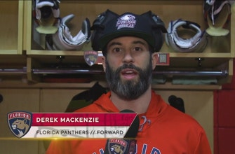 Panthers captain Derek MacKenzie thanks fans for their support